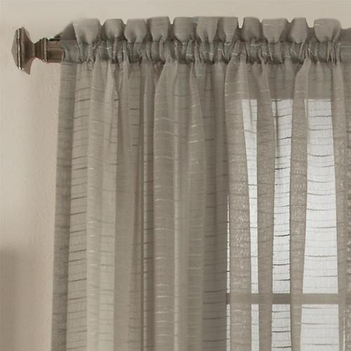 Natco bali rod pocket light filtering window panel 50w x 84l at menards
