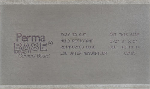 PermaBase® 1/2 x 3' x 5' Cement Board at Menards®