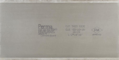 Permabase 1 2 X 4 X 8 Cement Board At Menards