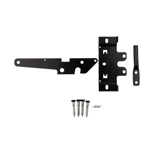 National Hardware® Black Post Mount Gate Latch at Menards®