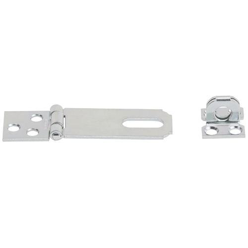 National Hardware  Black  Aluminum//Steel  Swivel Staple Safety Hasp  3-1//4 in L