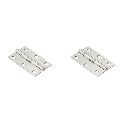 Non-Removable Pin Hinge National Hardware 3-1//2 in