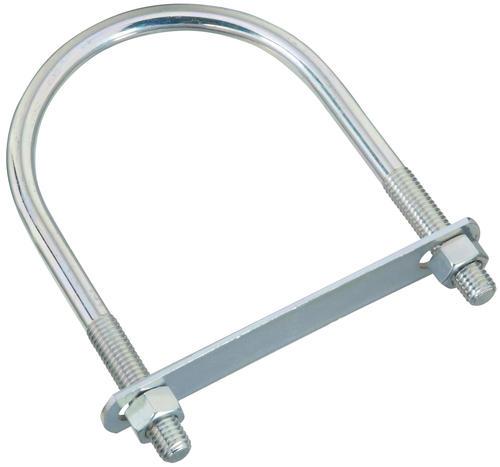 """Zinc-plated Steel U-bolt 1//2/""""-13  x 4-1//2/"""" x 7/"""" 4/"""" pipe size New"""
