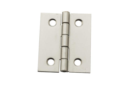 National Hardware 174 Satin Nickel Square Decorative Hinge