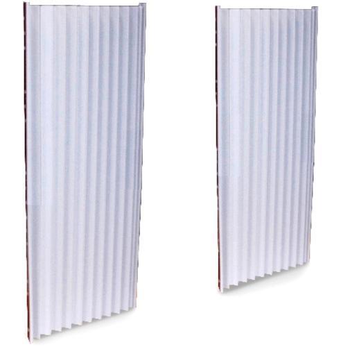 Air Conditioner Foam Insulating Panels : Decorating window air conditioner side panels