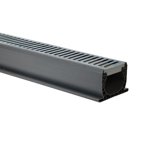 Nds 174 4 Quot X 10 Spee D Channel Drain With Grates At Menards 174