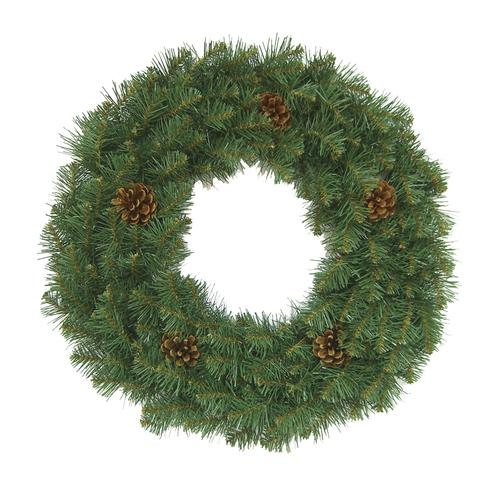 """Christmas Trees Bristol: Enchanted Forest® 24"""" Bristol Pine Artificial Wreath At"""