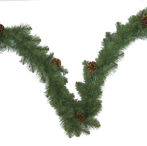 Christmas Trees Bristol: Enchanted Forest® 9' Bristol Pine Artificial Garland At