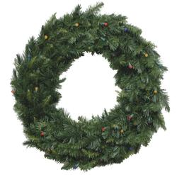 Enchanted Forest 174 30 Quot Prelit Led Verona Artificial Wreath