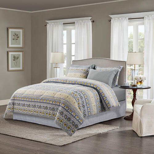 Brown & Grey™ 8-Piece Bed in a Bag at Menards®