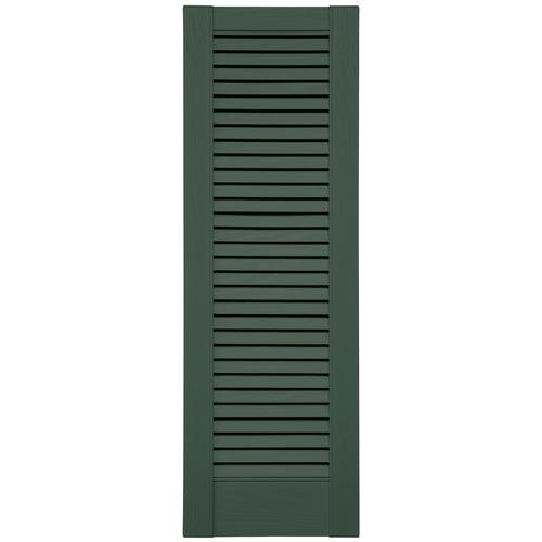 Shutters By Design 14 1 2 Quot W Vinyl Full Louvered Panel