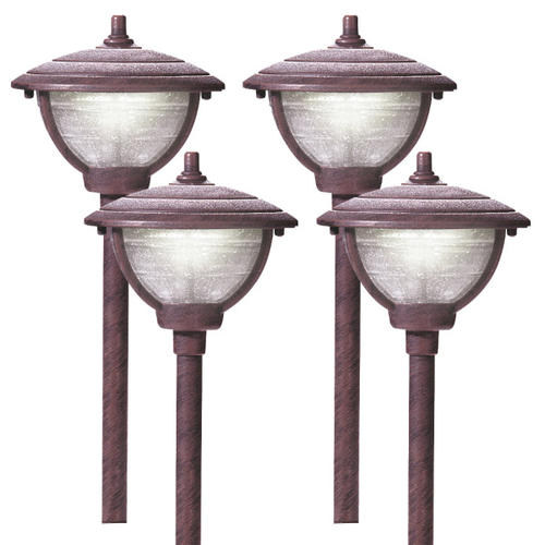 Patriot Lighting® Low Voltage LED Palm Island Path Lights (4-Pack) at Menards®  sc 1 st  Menards : low voltage pathway lights - azcodes.com