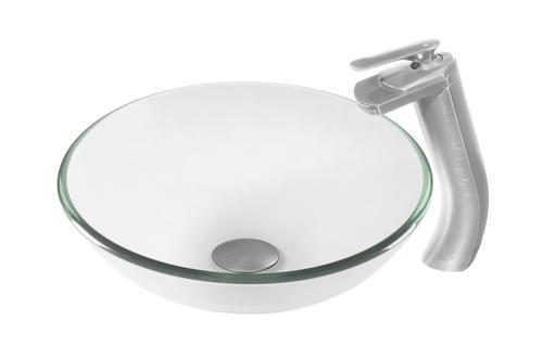Tall Bathroom Vessel Sink Faucet Single Lever Waterfall: Novatto® CASCADE Single Lever Waterfall Vessel Faucet