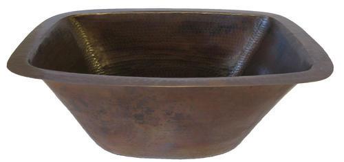 Novatto Cordoba Undermount 17 Quot Copper Single Bowl Bar Prep