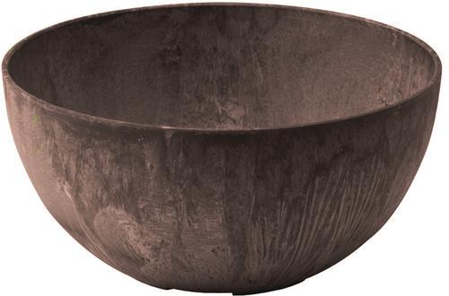 10 Resin Napa Bowl Planter Teak