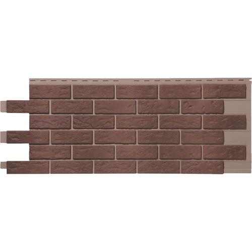 Novik 174 Hand Laid Brick Look Polymer Siding Panel At Menards 174
