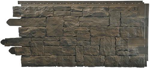 Novik® Stacked Stone Polymer Siding Panel at Menards®
