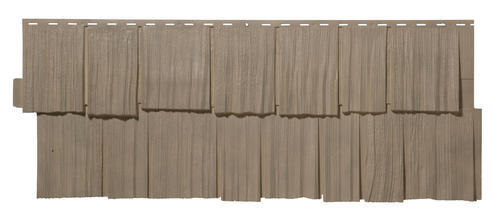 Novik 174 Hand Split Cedar Shake Polymer Siding Panel At Menards 174