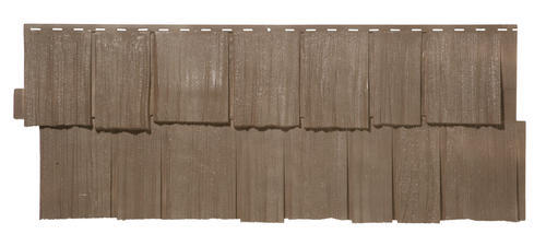 Novik 174 Hand Split Cedar Shake Polymer Siding Panel At Menards 174