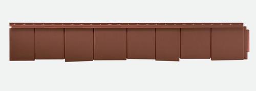 Novik 174 Staggered Edge Shake Polymer Siding Panel At Menards 174