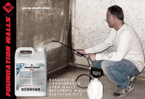 Radonseal Deep Penetrating Concrete