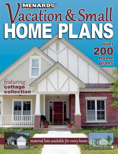 Menards Vacation and Small Home Plans at Menards
