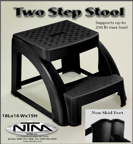 Fabulous Two Step Plastic Step Stool 250 Lb Max At Menards Cjindustries Chair Design For Home Cjindustriesco