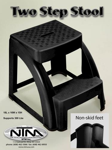 & Two-Step Plastic Step Stool 300 lb. Max at Menards® islam-shia.org