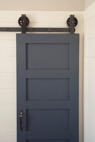 Artisan Hardware 174 Top Mount Barn Door Hardware Kit At Menards 174