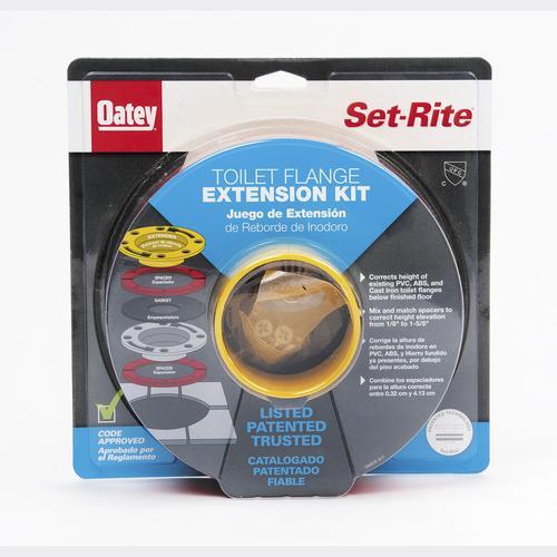 e5e428a39b61 Oatey® Set-Rite Toilet Flange Extension System at Menards®