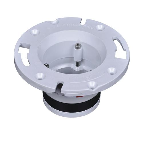 Oatey Pvc Replacement Toilet Flange 4 At Menards