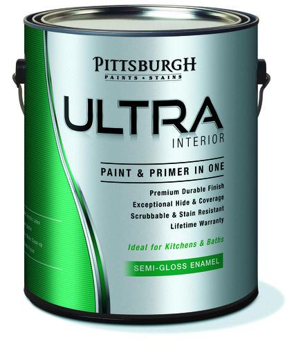 Pittsburgh Ultra High Gloss Pastel Base Int Ext Latex Enamel Paint 1 Gal At Menards