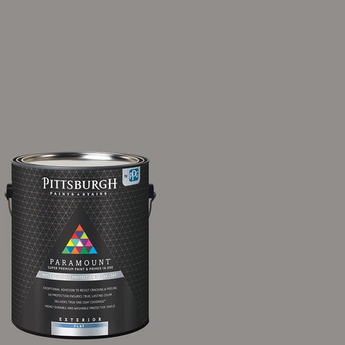 Paramount Exterior Paint Primer Gray Color Family 1 Gal At Menards