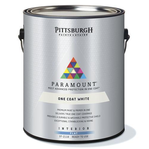 Shop our design u0026 buy stores + -  sc 1 st  Menards & Pittsburgh Paints u0026 Stains® Paramount Interior Paint and Primer ...