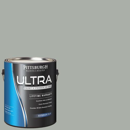 Pittsburgh Paints Stains Ultra Exterior Paint Primer Gray Color Family At Menards