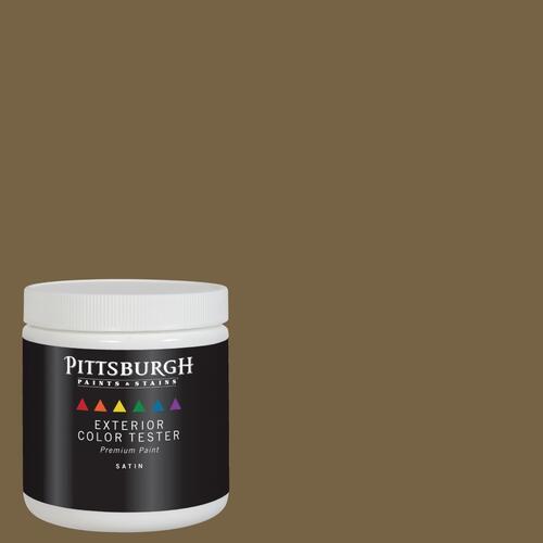 Paramount Exterior Satin Paint Primer Sample Brown Color Family At Menards