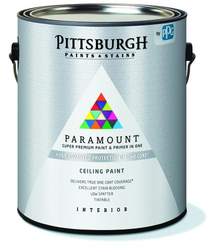 Pittsburgh Paints Stains Paramount Interior Ceiling Paint And Primer 1 Gal