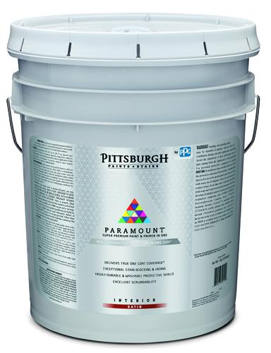 Pittsburgh Paints & Stains® Paramount® Interior Latex Paint White\/Pastel Base - 5 gal. at Menards®