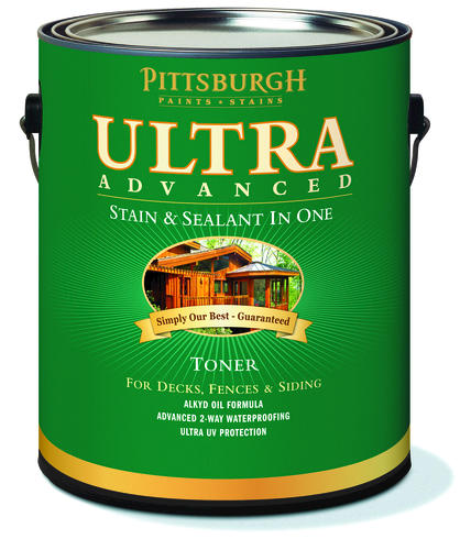 Pittsburgh Paints Stains Cedar Naturaltone Waterproofing Sealant Stain 1 Gal At Menards