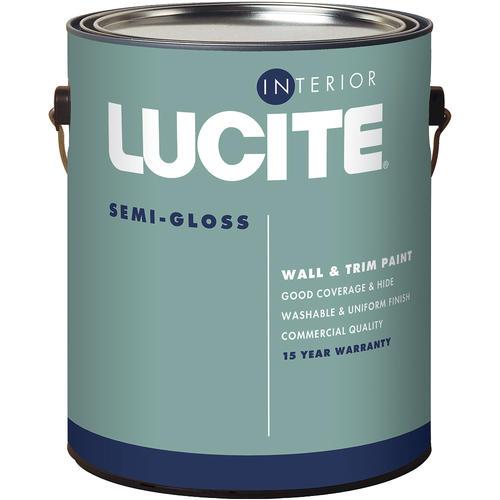 Acrylic Vs Latex Paint >> Lucite Pastel Interior Acrylic Latex Paint 1 Gal At Menards