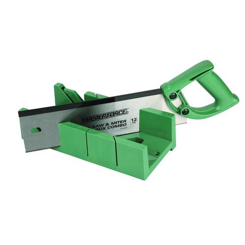 Masterforce 14 Resin Handle Back Saw With Miter Box At Menards
