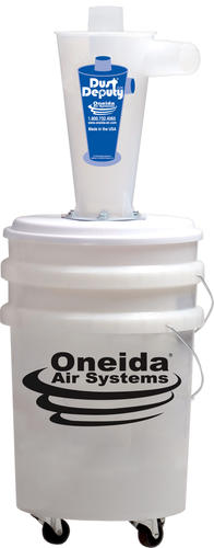 Oneida Air Systems® Dust Deputy Deluxe - Portable Cyclone Debris