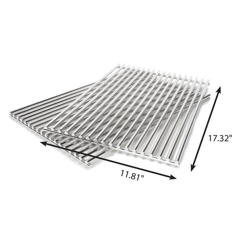 Stainless Steel Grill Cooking Grids Compatible With Weber