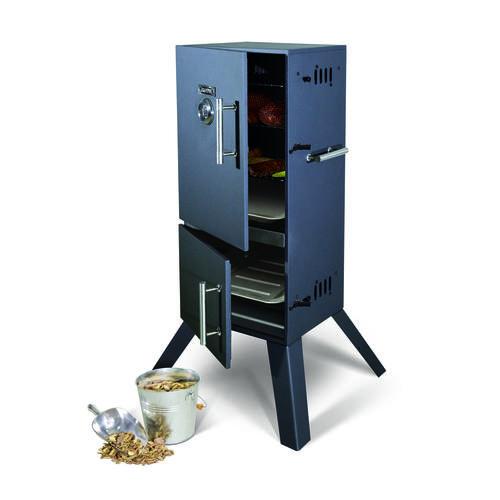 GrillPro® 2-Door Charcoal Smoker at Menards®