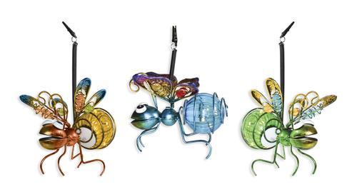 Enchanted Garden Solar Hanging Bug Assorted Styles At Menards