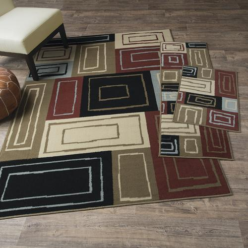 oriental weavers newport 3 piece area rug set assorted at menards