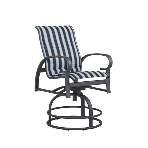 Backyard Creations 174 Legacy High Swivel Dining Patio Chair