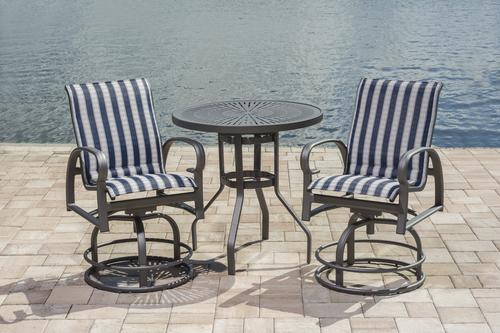 Backyard Creations® Legacy Collection 3 Piece High Bistro ...