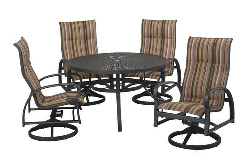 Backyard Creations 174 Legacy Collection 5 Piece Dining Patio