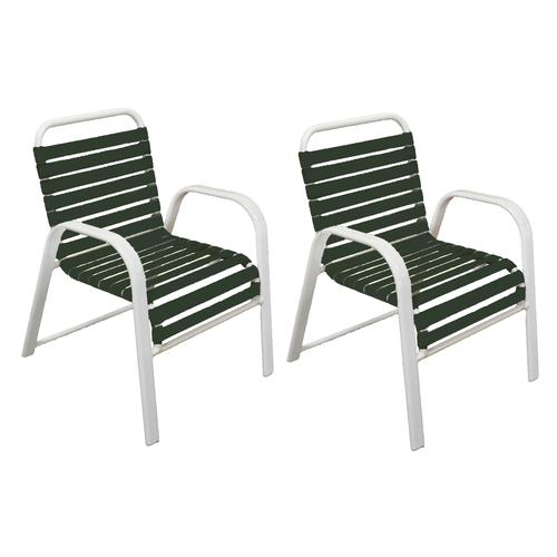 Admirable Commercial Grade Dining Patio Chair 2 Pack At Menards Home Interior And Landscaping Dextoversignezvosmurscom